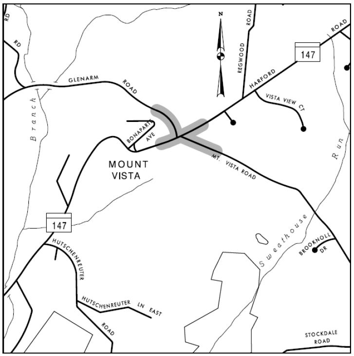 md-147-roundabout-area-map